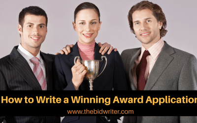 How to write a winning awards application