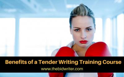 Benefits of a Bid Writing Training Course