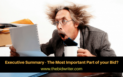 Executive Summary – Most Important Part of your Bid?