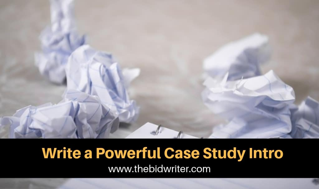 Write a powerful case study intro